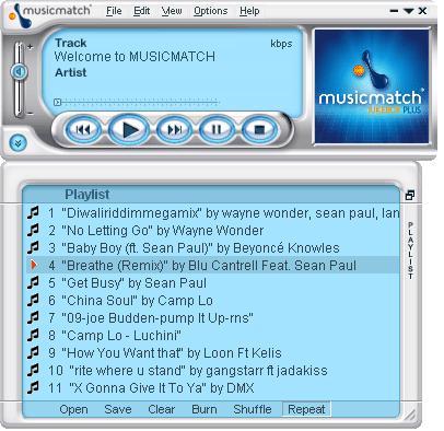 music match jukebox gratis: