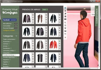 probador virtual Probador Virtual para probarse ropa online