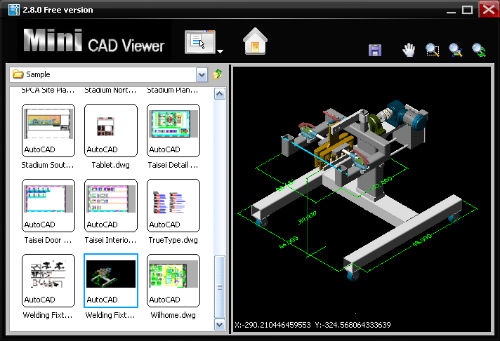 Descargar mini cad viewer para ver archivos de autocad for Archivos de cad