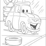 colorear cars 2 222 150x150 Imágenes de Cars para imprimir y colorear, para los niños