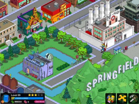 The Simpson Tapped Out 450x337 EA prepara un juego gratis de Los Simpsons
