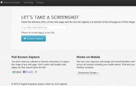 Web Screenshots