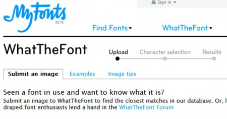 WhatTheFont 450x236 WhatTheFont, identificar cuál es la fuente usada en un texto