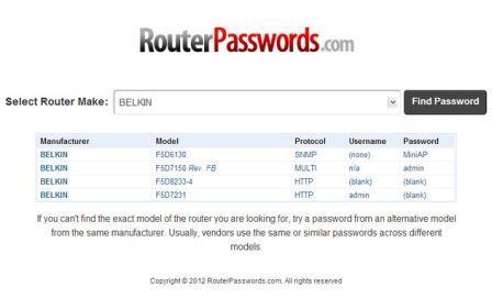RouterPasswords