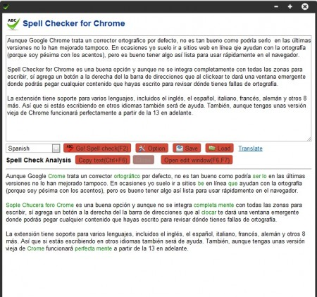 Spell Checker for Chrome 450x422 Spell Checker for Chrome, corrector ortográfico