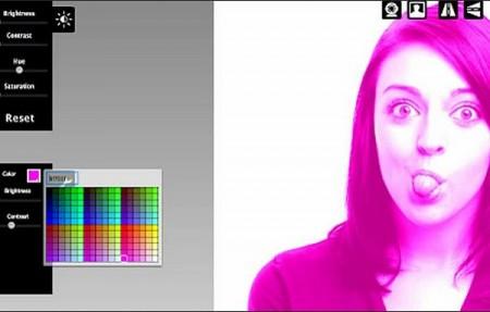 Pixect 450x287 Pixect, toma fotos con la webcam