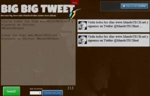 Big Big Tweet,