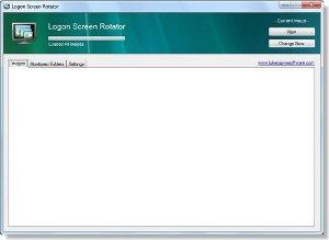 Windows Logon Screen Rotator
