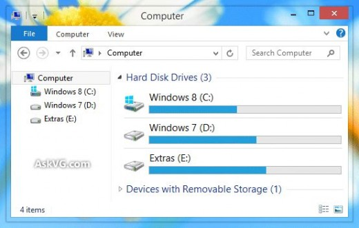 Windows 8 aero