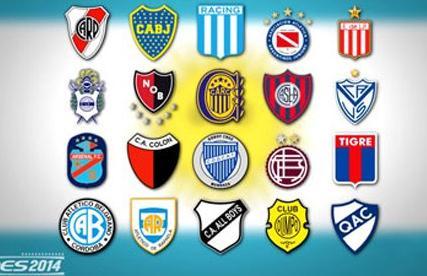 Liga Argentina Pes 2014