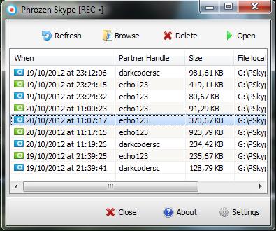 Phrozen Skype REC