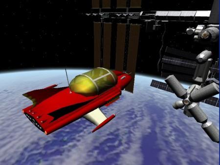Supercar-Orbiter