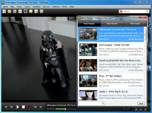 Reproductor multimedia para Windows