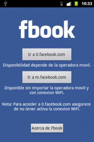 Fbook android