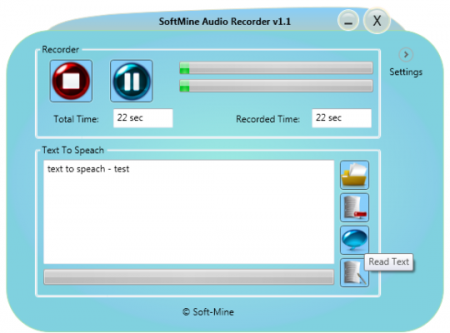 SoftMine Audio Recorder
