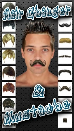 Hair Change and Mustache