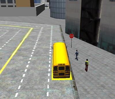 Simulador 3D de manejo - Schoolbus