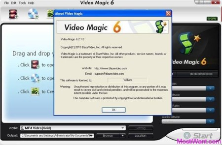 Blaze Video Magic Standard