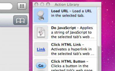 Navegador Fake Mac OS X